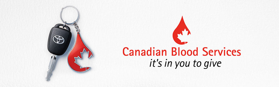 Canadian Blood Services it's in you to give