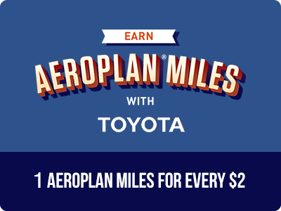 1 Aeroplan Miles for Every $2
