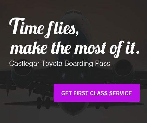 Time flies make the most of it with Castlegar's boarding pass