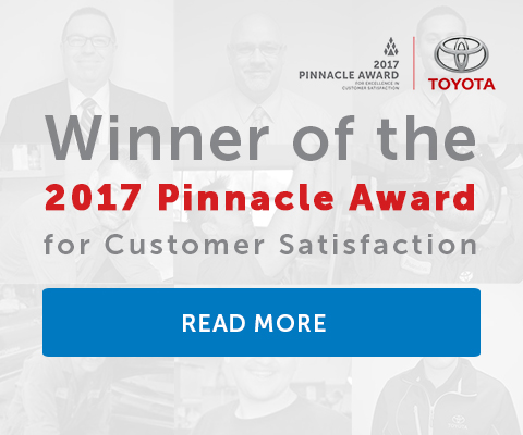 Winner of the 2017 Pinnacle Award for Customer Satisfaction