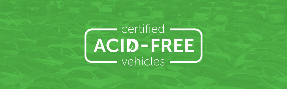 Certified Acid-Free Vehicles
